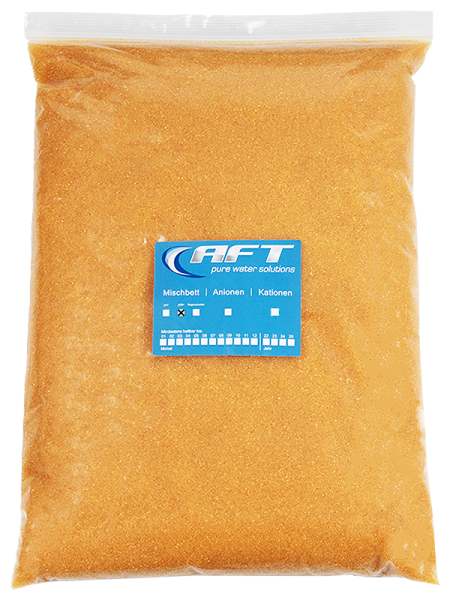 Mischbettharz, Austauschharz mit pH Anhebung, 1 Liter