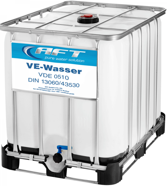 VE Wasser im IBC - Neucontainer inklusive