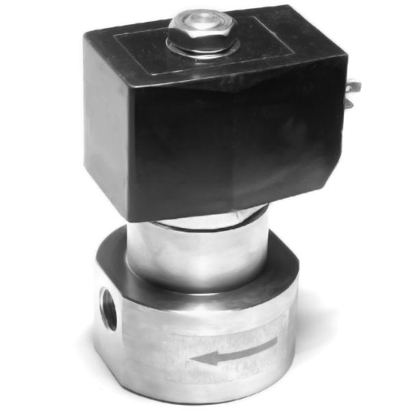"""Magnetventil Hochdruck, Edelstahl, 100 bar, 3/8"""", 1000 l/h"""