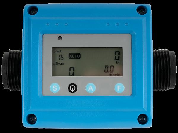 Leitfähigkeitsmeßgerät EVO - Grenzwert-Alarm - Durchflußmessung