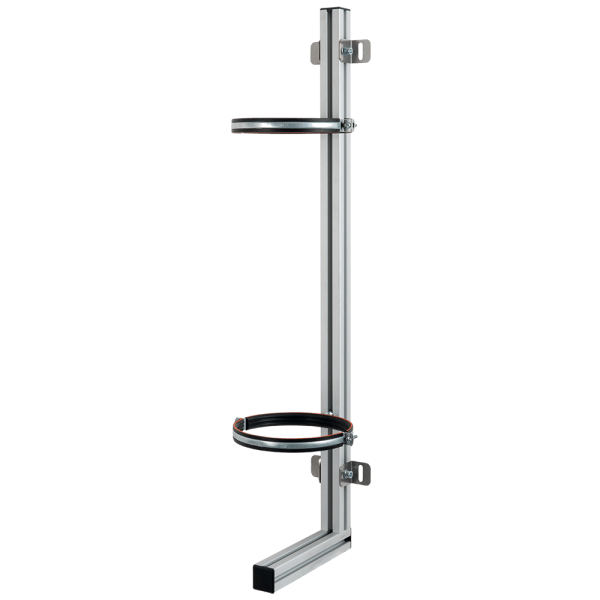 Wandhalterung für MBK 5-60, GFK Drucktank, aus Aluminium