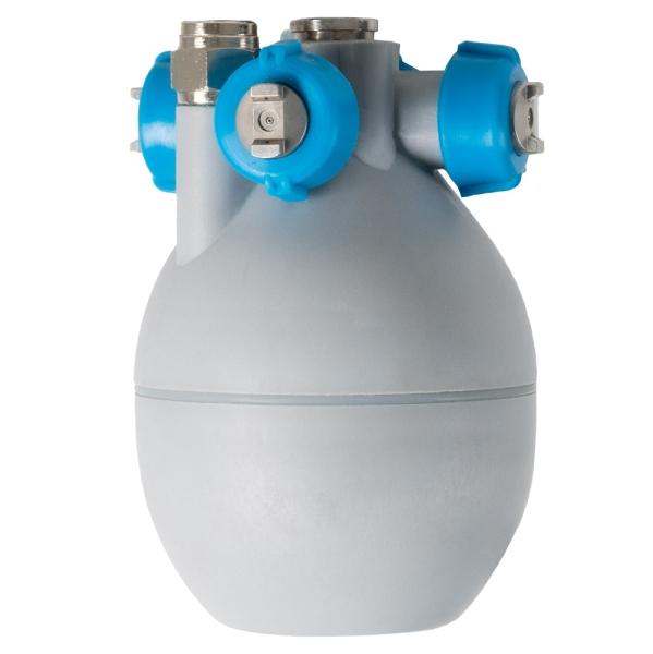 Luftbefeuchter DUALFOG mit Druckluft und Wasser