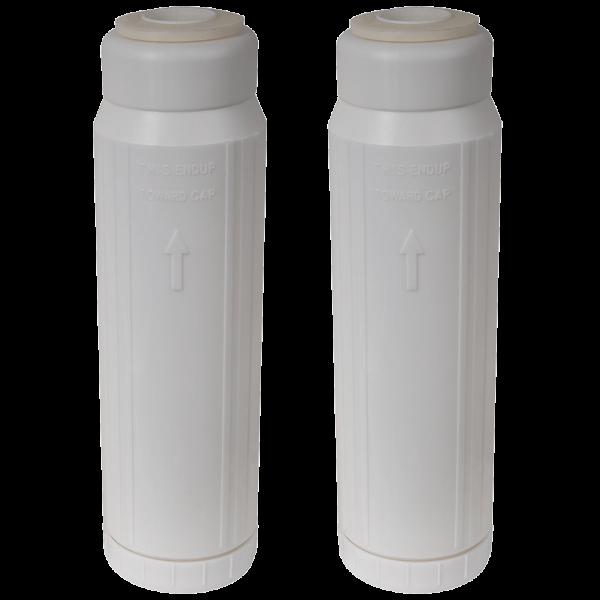 Vollentsalzer Kartusche 2 Stück befüllt kompatibel zu Melag Meladem 40