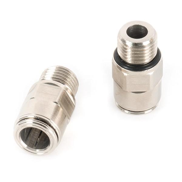 """Schlauchverbinder 3/8"""" mit geradem G1/4"""" O-Ring, 160 bar"""