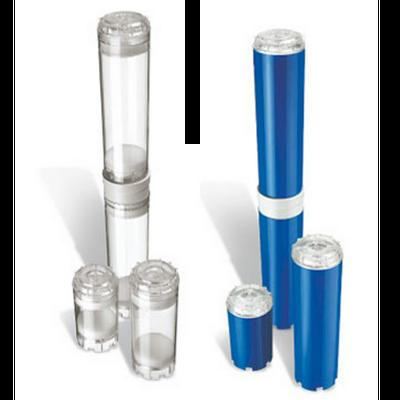 """Leerkartusche Wasserfilter 10"""" Acryl befüllbar"""
