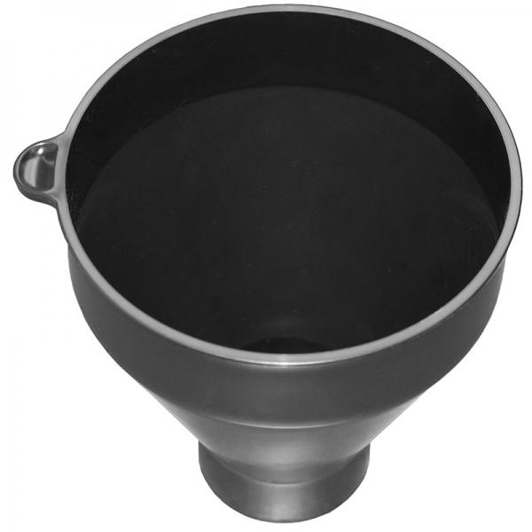 Trichter Schwarz für Ionenaustauscher MBK oder alle anderen Vollentsalzer
